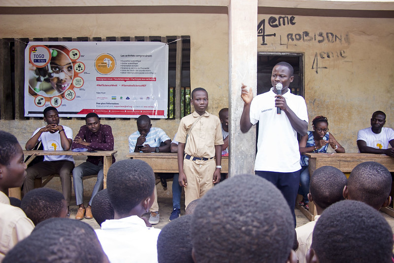 #NEFScienceWeek 2019 Togo: Kouve