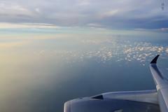 Flying over Java Sea