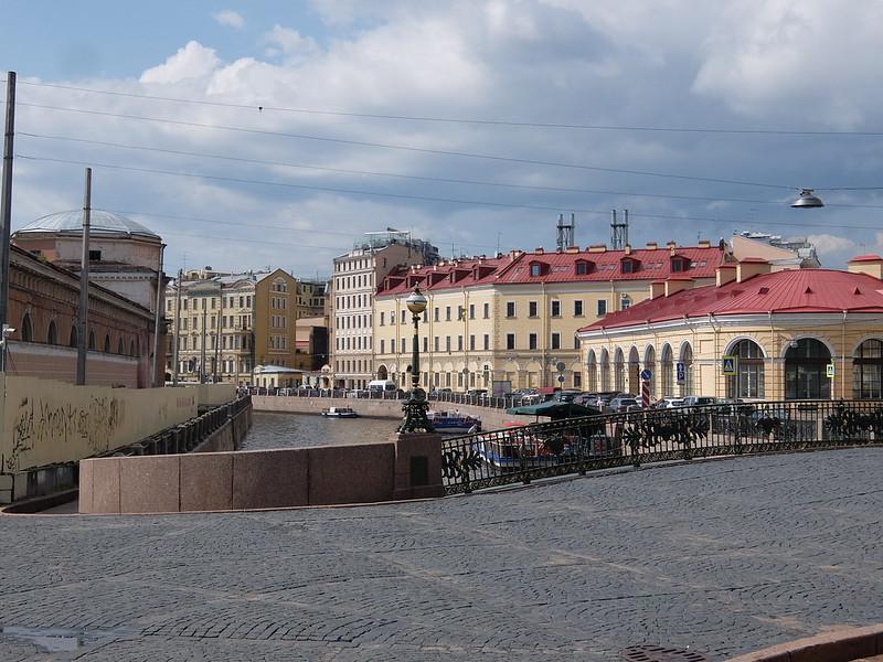 Санкт-Петербург - Мост через реку Мойку