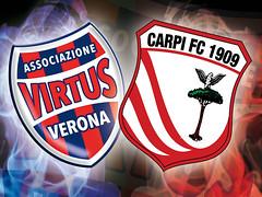 Virtus Verona-Carpi: la vigilia di Gigi Fresco.