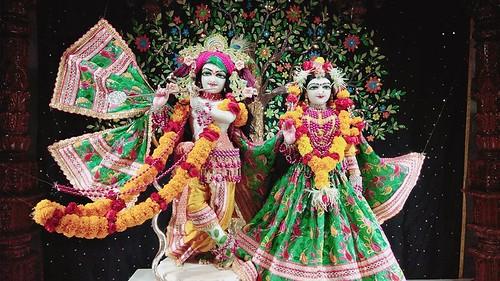ISKCON Rajkot Deity Darshan 19 Nov 2019
