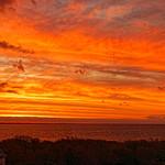 19. November 2019 - 8:22 - Lever de soleil sur la baie d'Audierne