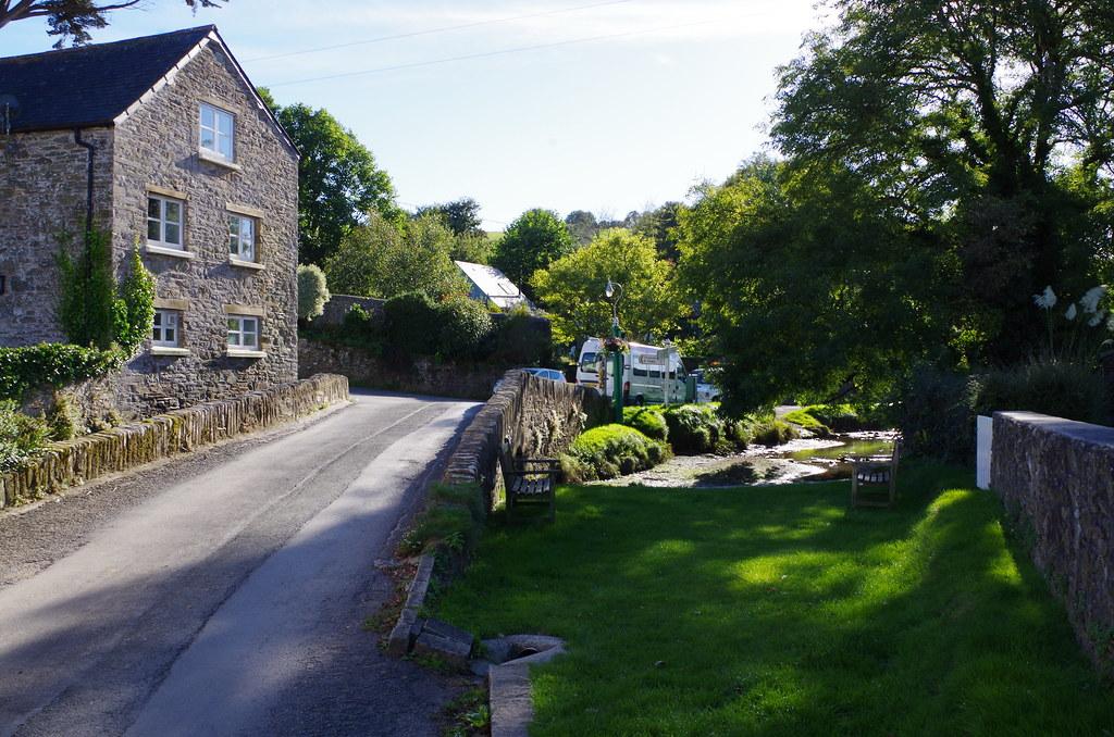 Devon village