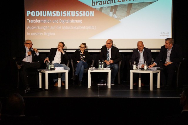 2019-11-18 Podiumsdiskussion - Transformation und Digitalisierung