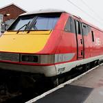 Class 91: 91108 + 91107 LNER Doncaster