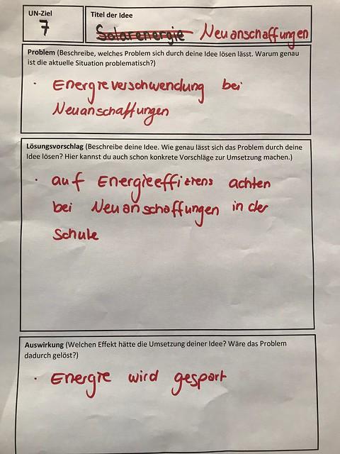 BNE-Gesamtschulkongress - Ideen
