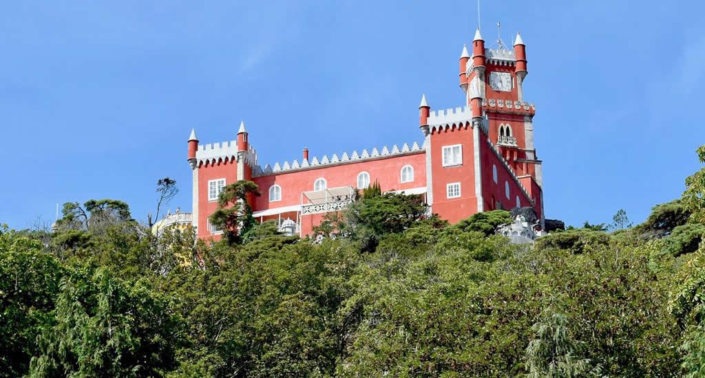 Sintra: Palacio Nacional de Pena | Mooistestedentrips.nl