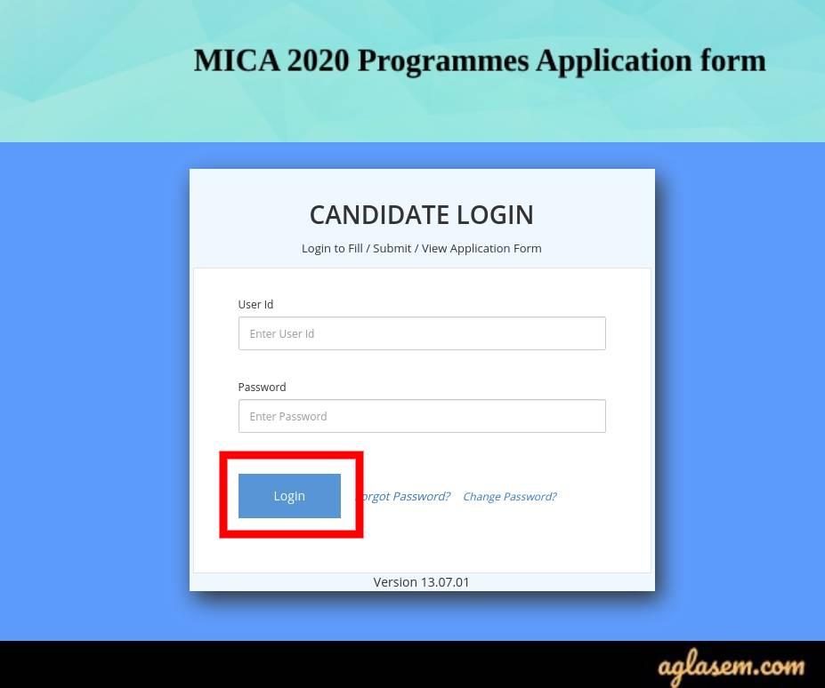 MICAT Admit Card 2020