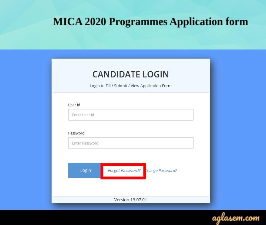 MICAT 2020 Admit Card