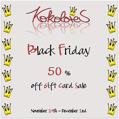 [KoKoLoReS] Black Friday Sale