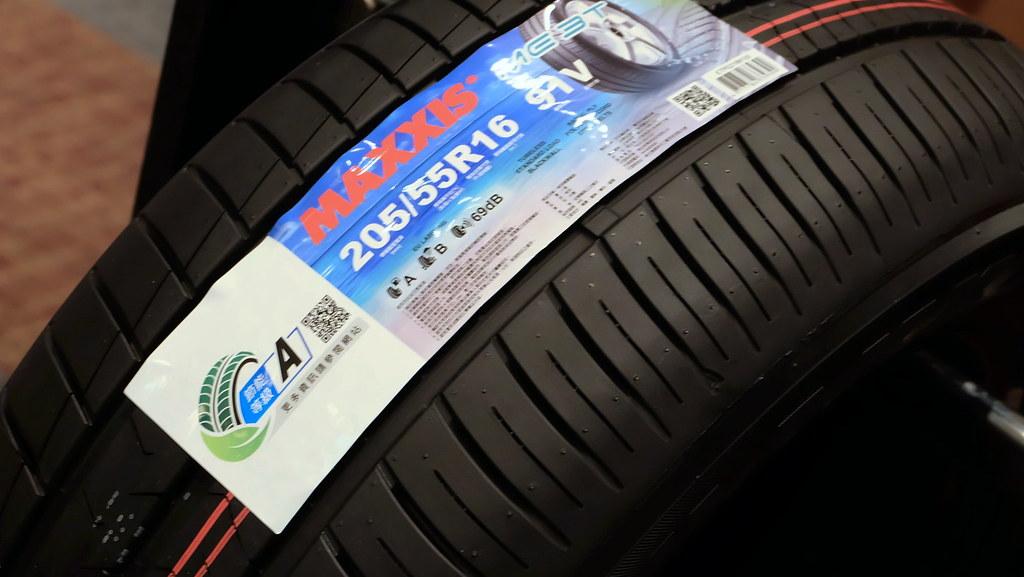 國內第一款A級節能輪胎。攝影:陳文姿