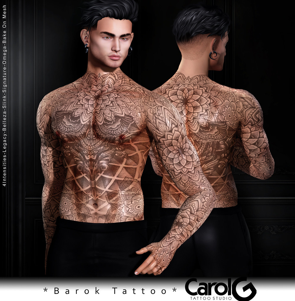 Barok Male TaTToo [CAROL G]