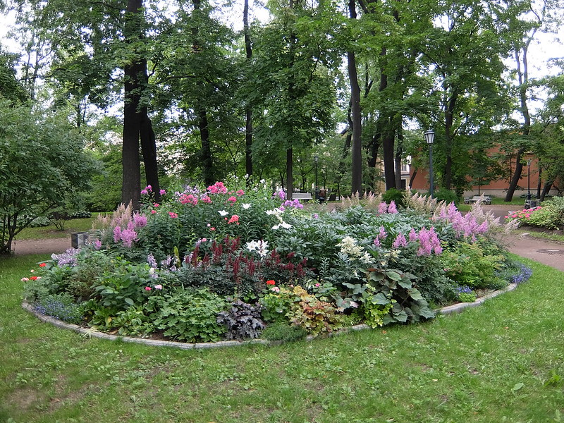 Санкт-Петербург - Измайловский сад - Клумба