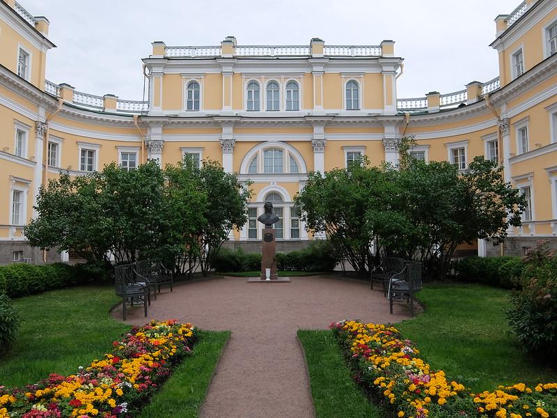 Санкт-Петербург - Усадебный сад Г. Р. Державина