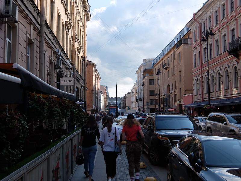 Санкт-Петербург - Улица Рубинштейна