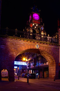 Chester, in the pink