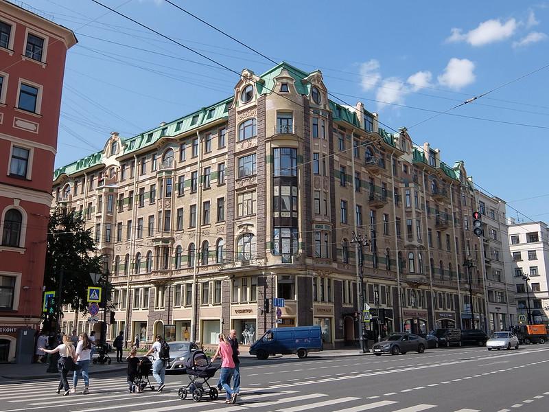 Санкт-Петербург - Здание на Невском проспекте