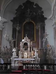 Ljubljana (Croacia). Iglesia de Santiago. Altar