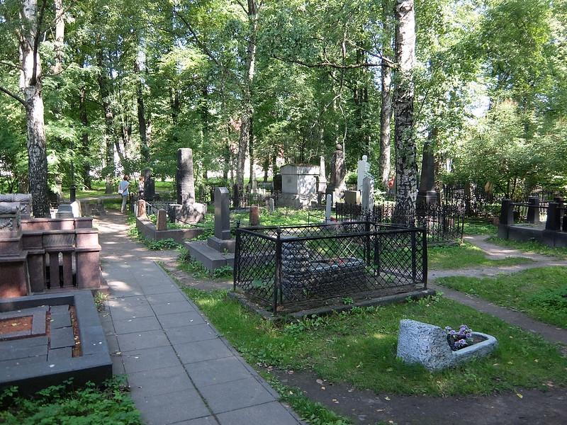 Санкт-Петербург - Александро-Невская Лавра - Казачье кладбище