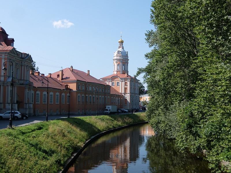 Санкт-Петербург - Александро-Невская Лавра - Река Монастырка