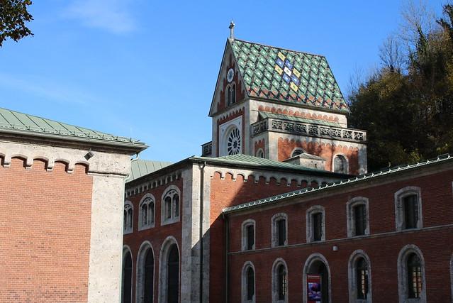 Bad Reichenhall: Brunnhauskapelle der Alten Saline
