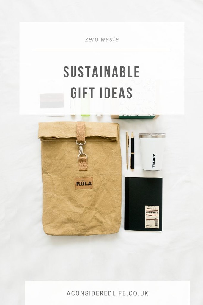 A Sustainable Gift Guide