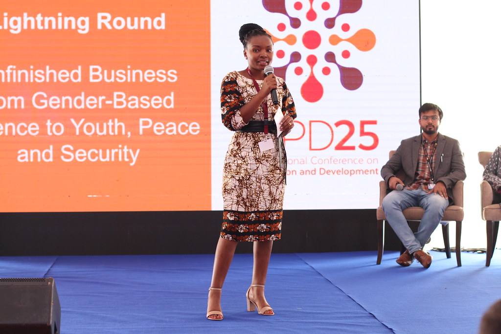 Lightning Talks: Unfinished Business from Gender-Based Violence to Youth, Peace and Security