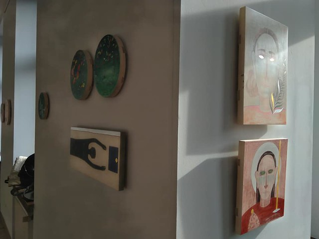 exhibition in Zielona Gallery