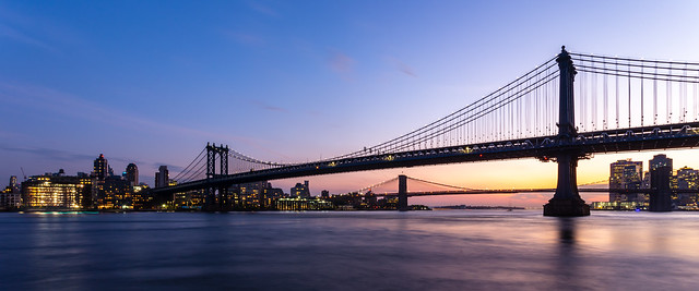Two Bridges Sunset #3 - Manhattan, New York, 2016