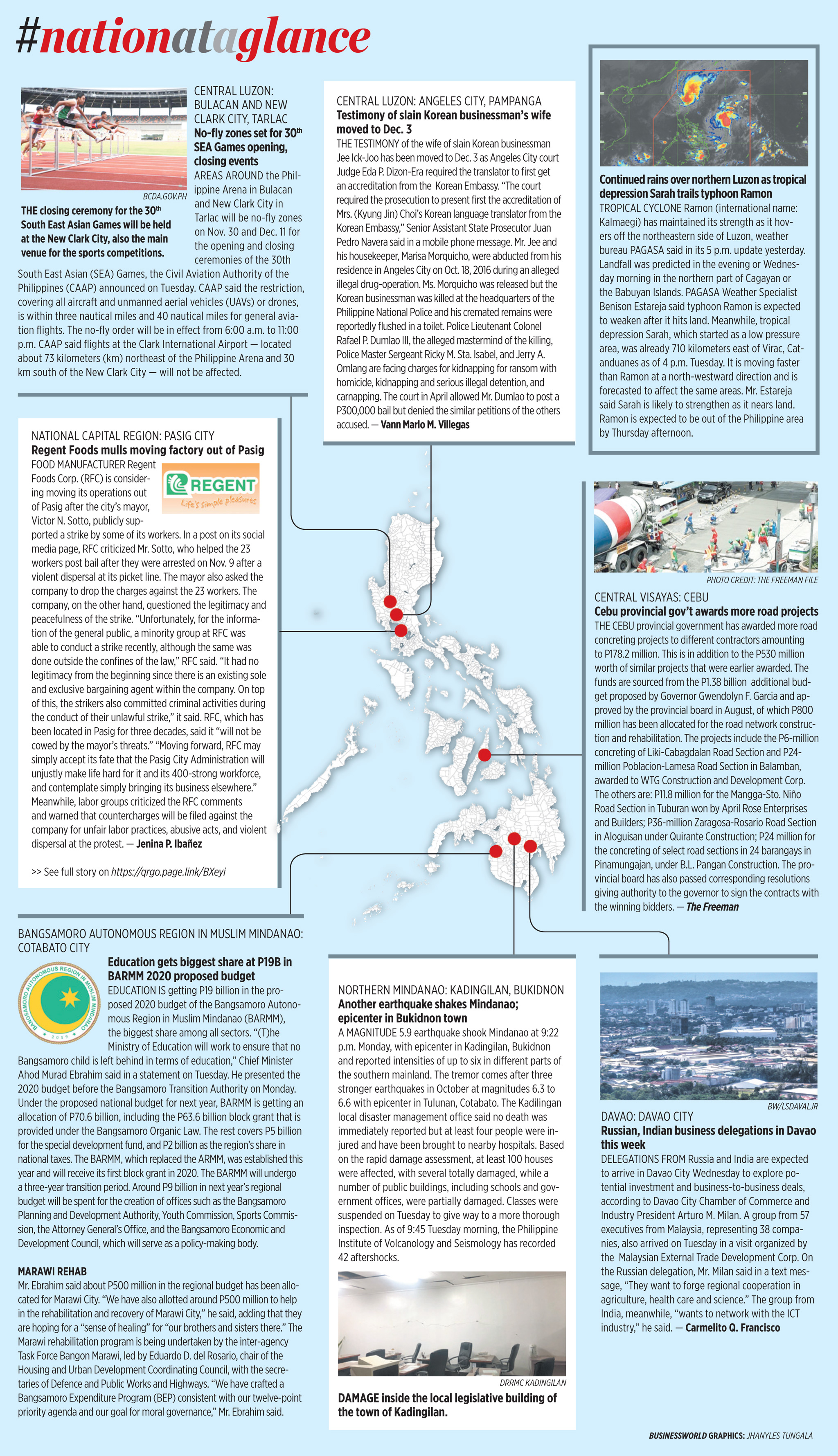 Nation at a Glance — (11/20/19)