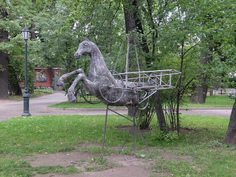 Санкт-Петербург - Измайловский сад - Скульптура