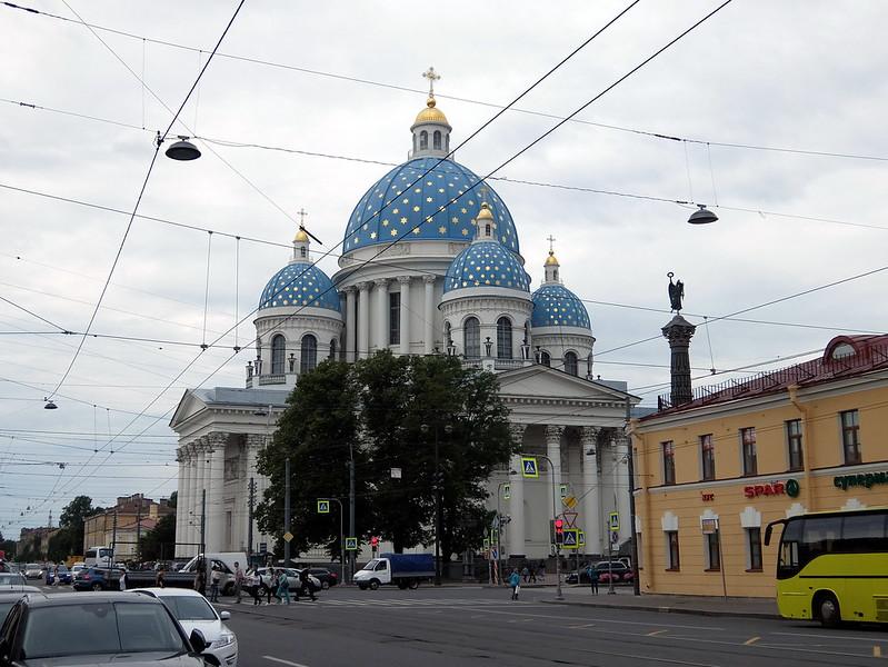 Санкт-Петербург - Собор Святой Живоначальной Троицы