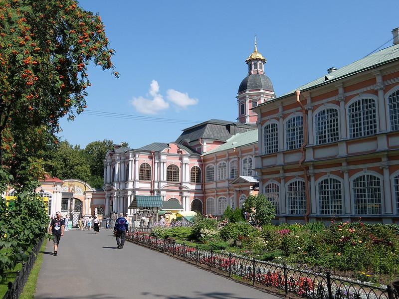 Санкт-Петербург - Александро-Невская Лавра - Церковь Благовещения Пресвятой Богородицы