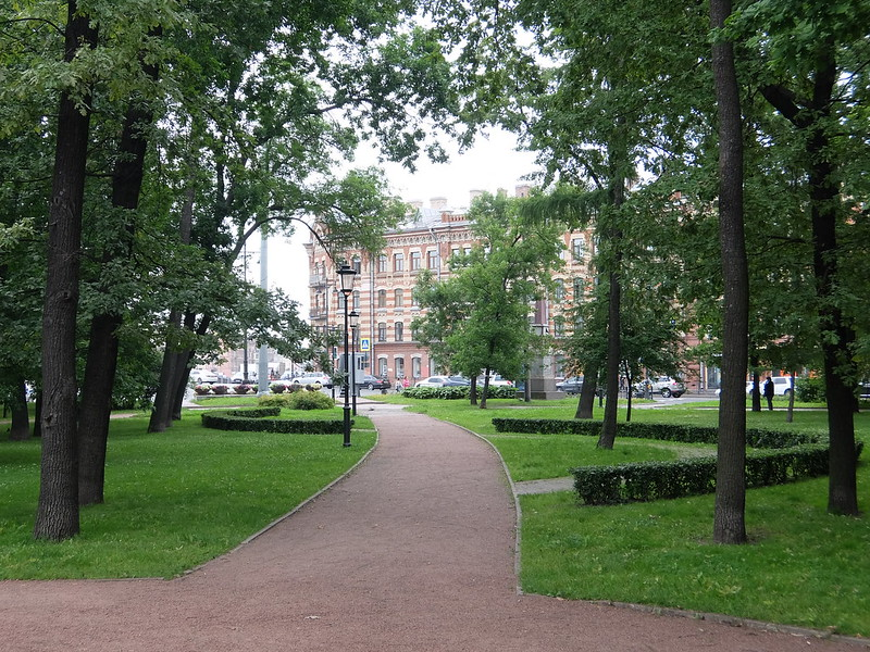 Санкт-Петербург - Сад Маршала Говорова