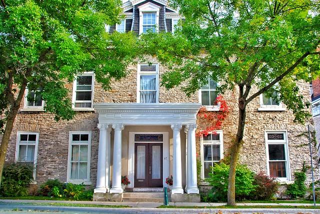 Brockville Ontario - Canada  - 87 King Street East -  Steacy House c. 1847
