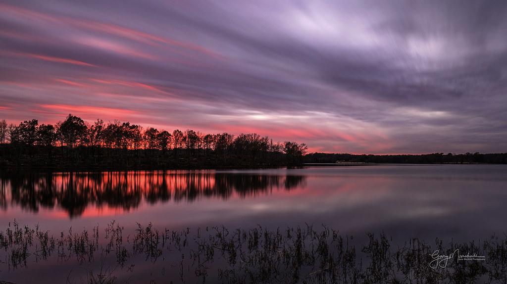 Blue hour post sunset