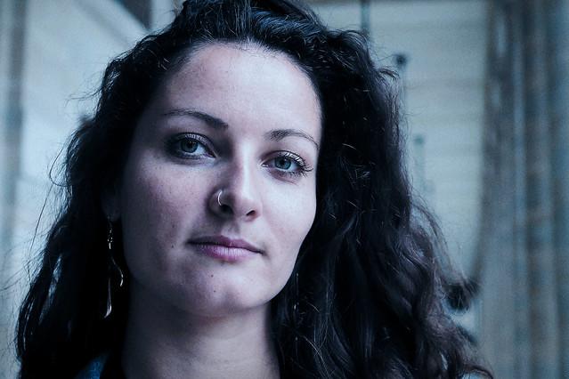Blue velvet..Sophie diva d'un court-métrage pour un jour