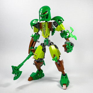 Lewa. Toa of Plantlife.