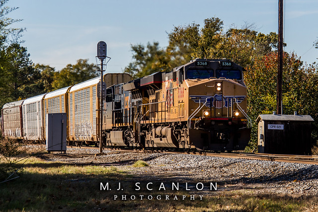 UP 5368 | GE AC45CCTE | UP Little Rock Subdivision