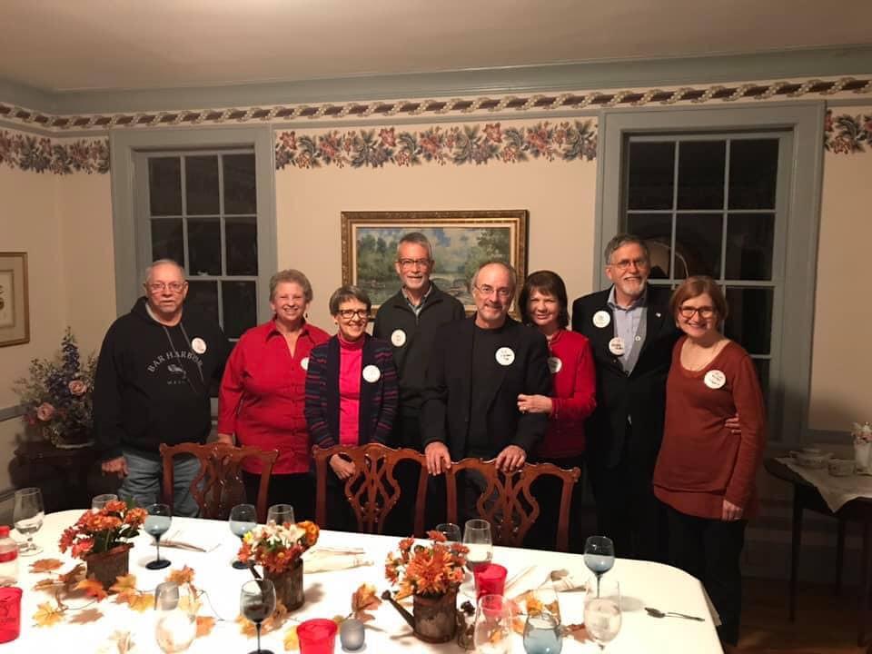 Rhodes College Friends, 45-Year Class Reunion