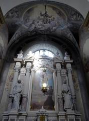 Ljubljana (Croacia). Iglesia de San Francisco. Capilla