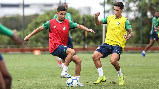 Treino do Fluminense - 19/11/2019