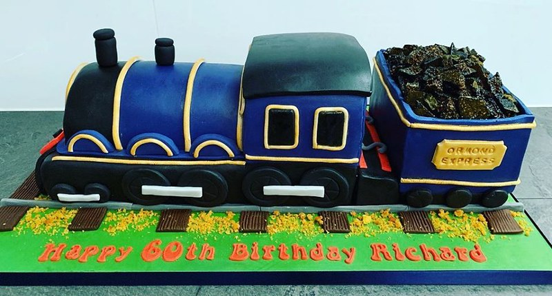 Steam Train Cake by Little Love Cakes