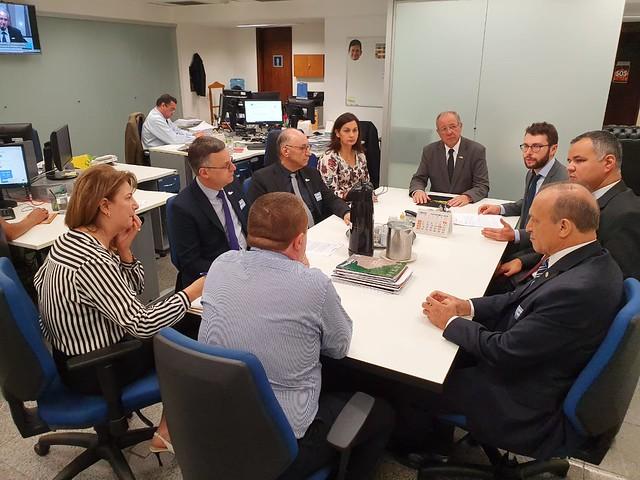 19/11/2019 Reunião Fecomércio Gabinete Brasília