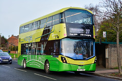 Go North East: NK67GNU / 6327 - Wright Streetdeck