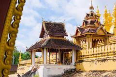 Visite du Pha That Luang, le symbole du pays et son monument le plus sacré, à Vientiane