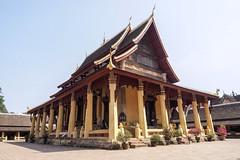 Visite du Wat SiSakhet, le plus vieux temple de Vientiane