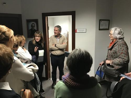 Begi Bistan con Carlos Bargos, Director de Cáritas Bizkaia