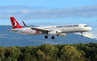 Turkish Airlines Airbus A321-231(SL) TC-JTK