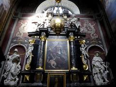Ljubljana (Croacia). Iglesia de San Francisco. Altar